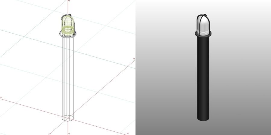 formZ 3D エクステリア 照明器具 ガーデンライト
