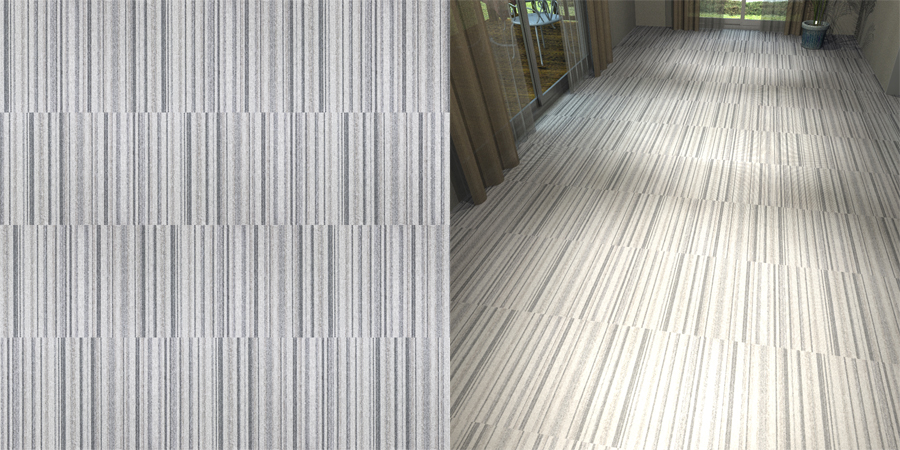 フリーデータ,2D,テクスチャー,texture,JPEG,タイルカーペット,カーペットタイル,tile,carpet,ストライプ,stripe,灰色,グレー,gray,流し貼り