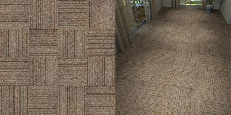 フリーデータ,2D,テクスチャー,texture,JPEG,タイルカーペット,カーペットタイル,tile,carpet,ストライプ,stripe,茶色,brown,市松貼り