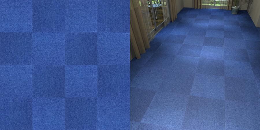 フリーデータ,2D,テクスチャー,JPEG,タイルカーペット,青