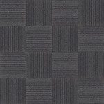 【タイルカーペット】黒/灰色のストライプ柄(市松貼り)【テクスチャー】  tc_0018