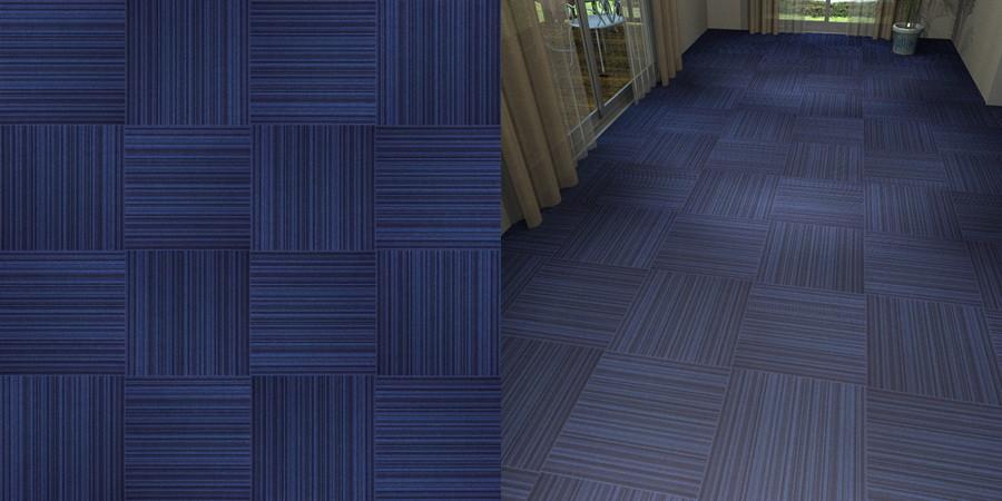 フリーデータ,2D,テクスチャー,JPEG,タイルカーペット,青色,市松貼り