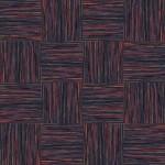 【タイルカーペット】黒/赤色のストライプ柄(市松貼り)【テクスチャー】 tc_0042