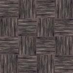【タイルカーペット】黒/茶色のストライプ柄(市松貼り)【テクスチャー】 tc_0044