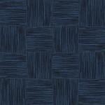 【タイルカーペット】濃い青色のストライプ柄(市松貼り)【テクスチャー】 tc_0046