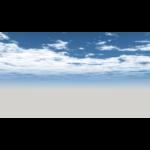 【CG】雲の広がる青空【背景画像】 sky_0001