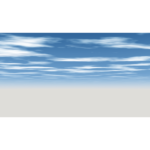 【CG】雲の広がる青空【背景画像】 sky_0002