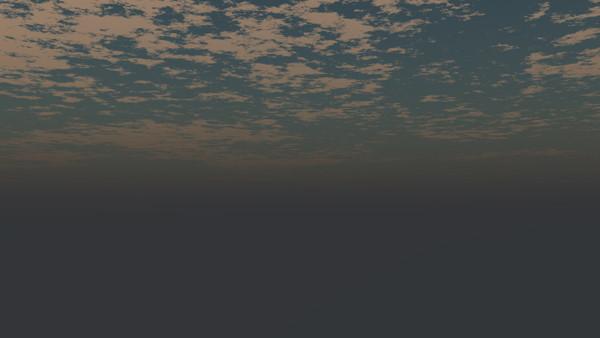 CAD,フリーデータ,2D,CG,背景画像,空,夕暮れ,雲