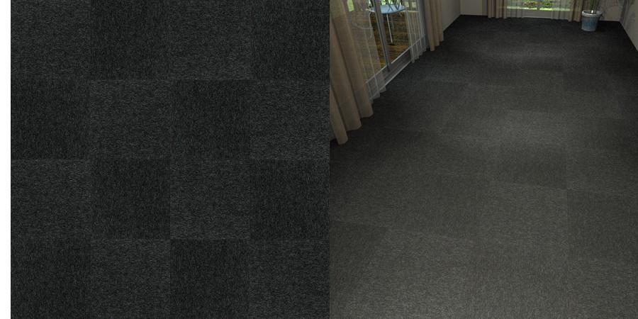 フリーデータ,2D,テクスチャー,JPEG,タイルカーペット,tile,carpet,黒,black,市松貼り