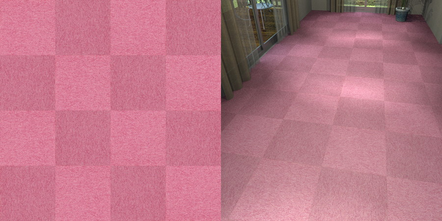 フリーデータ,2D,テクスチャー,texture,JPEG,タイルカーペット,tile,carpet,紫,purple,ピンク,pink,市松貼り