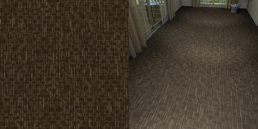 フリーデータ,2D,テクスチャー,texture,JPEG,タイルカーペット,tile,carpet,模様,pattern,茶色,brown,流し貼り