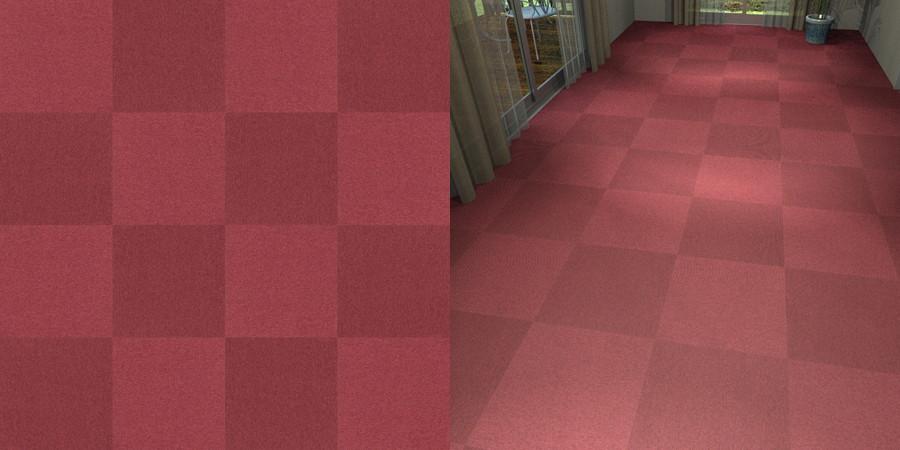 フリーデータ,2D,テクスチャー,JPEG,タイルカーペット,tile,carpet,赤,red,市松貼り