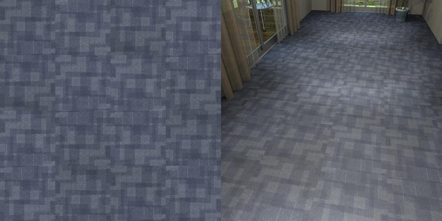 フリーデータ,2D,テクスチャー,texture,JPEG,タイルカーペット,tile,carpet,模様,pattern,青色,blue,流し貼り