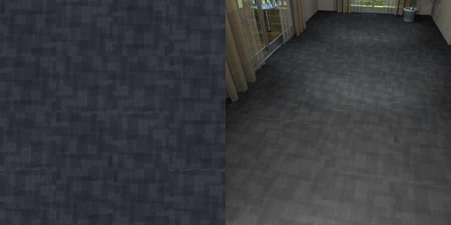フリーデータ,2D,テクスチャー,texture,JPEG,タイルカーペット,tile,carpet,模様,pattern,黒色,black,流し貼り