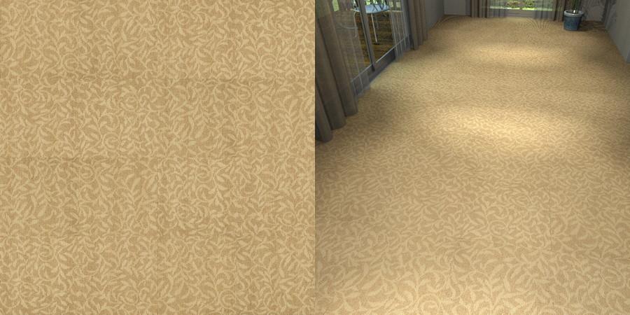 フリーデータ,2D,テクスチャー,texture,JPEG,タイルカーペット,tile,carpet,模様,植物柄,botanical pattern,茶色,brown,流し貼り