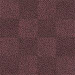 【タイルカーペット】紫色の植物柄(市松張り)【テクスチャー】 tc_0172