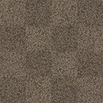 【タイルカーペット】茶色の植物柄(市松張り)【テクスチャー】 tc_0174