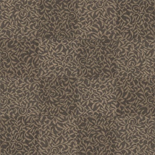 CAD,フリーデータ,2D,テクスチャー,texture,JPEG,タイルカーペット,tile,carpet,模様,植物柄,botanical pattern,茶色,brown,市松貼り