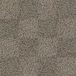 【タイルカーペット】灰/茶色の植物柄(市松貼り)【テクスチャー】 tc_0176