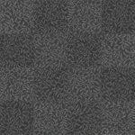 【タイルカーペット】黒/灰色の植物柄(市松張り)【テクスチャー】 tc_0178