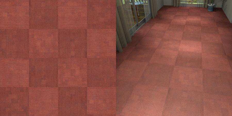 フリーデータ,2D,テクスチャー,texture,JPEG,タイルカーペット,tile,carpet,模様,pattern,赤色,red,市松貼り