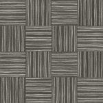 【タイルカーペット】白/黒色のストライプ柄(市松貼り)【テクスチャー】 tc_0192