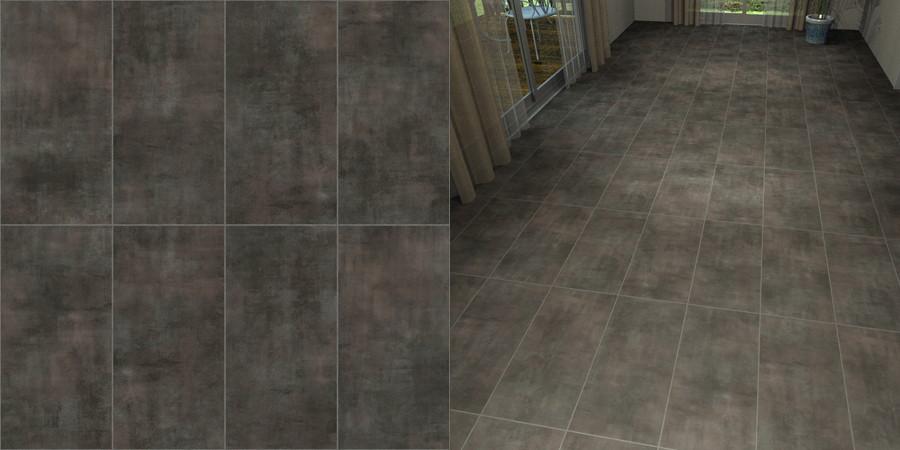 フリーデータ,2D,テクスチャー,JPEG,フロアータイル,floor,tile,陶器質,せっ器質,磁器質,ceramic,porcelain,茶色,brown,灰色,gray,芋目地