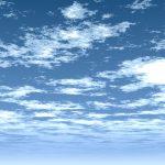 【CG】雲の広がる青空【背景画像】 sky_0007