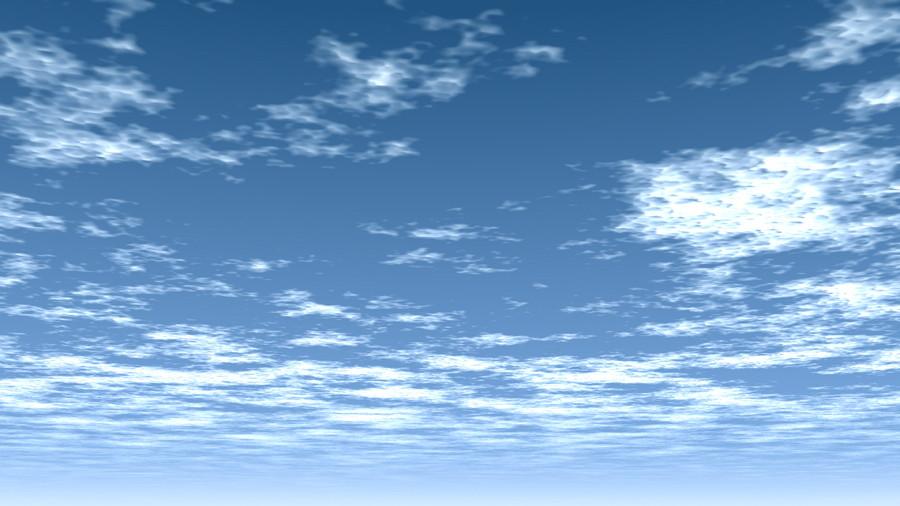 Cg 雲の広がる青空 背景画像 Sky 0008 無料 商用可 2d 3d