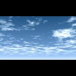 【CG】雲の広がる青空【背景画像】 sky_0008