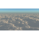 【CG】雲海を望む空【背景画像】 sky_0015