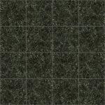 【タイル】濃い緑色の石タイル (目地灰色)【テクスチャー】 tile_0120