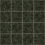 【タイル】濃い緑色の石タイル (目地白色)【テクスチャー】 tile_0122