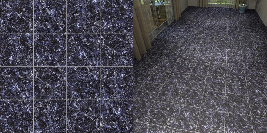 フリーデータ,2D,テクスチャー,JPEG,フロアータイル,石タイル,floor,tile,stone,青色,blue,紫,purple