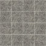 【タイル】灰色の石タイル (目地白色)【テクスチャー】 tile_0128