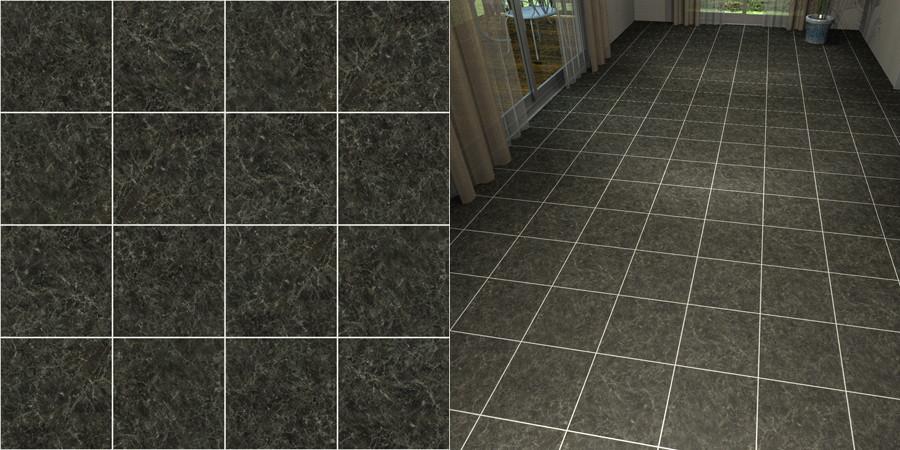 フリーデータ,2D,テクスチャー,JPEG,フロアータイル,floor,tile,stone,黒色,black,グレー