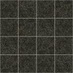 【タイル】黒色の石タイル (白色)【テクスチャー】 tile_0131