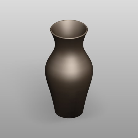 formZ 3D インテリア interior 家具 furniture 雑貨 miscellaneous goods 花瓶 フラワーベース flower vase