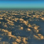 【CG】雲海を望む空②【背景画像】 sky_0016