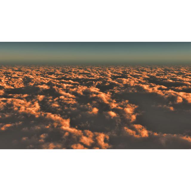 フリーデータ,2D,CG,背景画像,空,青空,雲,sky,clouds,雲海,雲の上