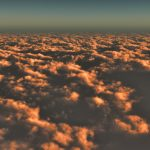 【CG】雲海を望む空③夕暮れ【背景画像】 sky_0017