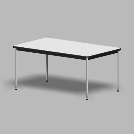formZ 3D インテリア 家具 机 打合せテーブル 会議テーブル ミーティングテーブル interior furniture dining meeting table