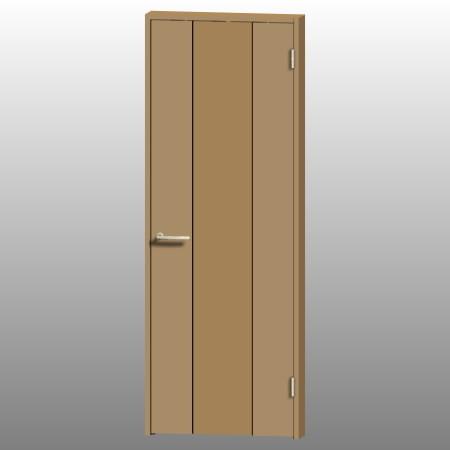 formZ 3D インテリア 建具 ドア 木製建具 室内ドア