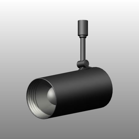 formZ 3D インテリア 照明器具 lighting equipment スポットライト spotlight 配線ダクト 白熱灯