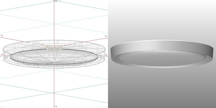 formZ 3D インテリア 照明器具 lighting equipment シーリングライト ceiling