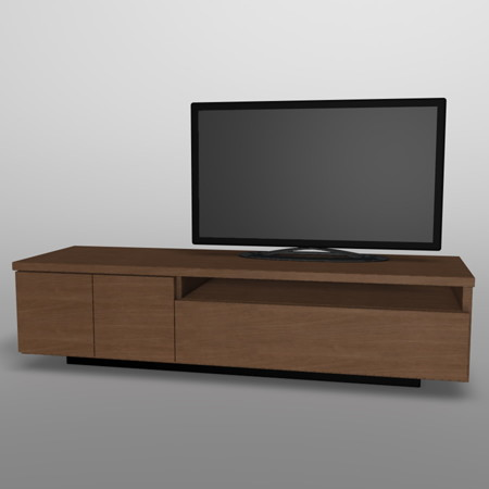 formZ 3D インテリア 家具 interior furniture 棚 テレビラック tv rack television rack 家電製品 consumer electronics テレビ