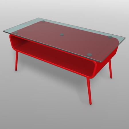 formZ 3D インテリア interior 家具 furniture ローテーブル low table リビングテーブル living