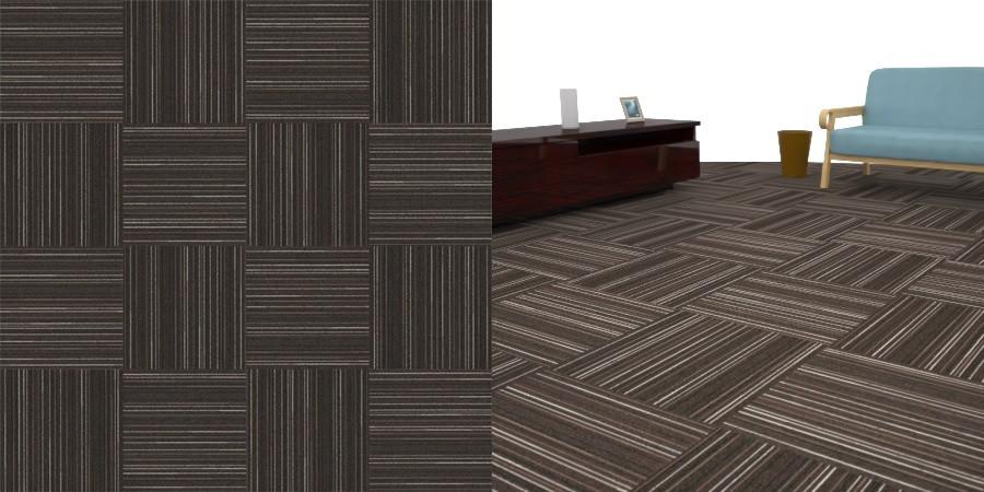 フリーデータ,2D,テクスチャー,texture,JPEG,タイルカーペット,tile,carpet,ストライプ,stripe,白色,ホワイト,white,茶色,brown,市松貼り,サンゲツ,カーペットタイル,sangetsu,DT5152