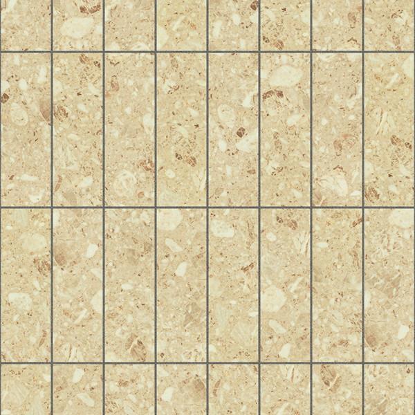 CAD,フリーデータ,2D,テクスチャー,JPEG,フロアータイル,floor,tile,石タイル,stone,茶色,brown,芋目地,クリーム色