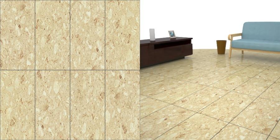 フリーデータ,2D,テクスチャー,JPEG,フロアータイル,floor,tile,石タイル,stone,茶色,brown,芋目地,クリーム色